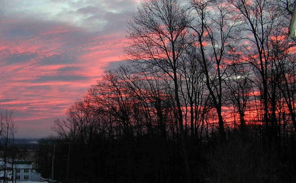 Sunrise over Gettysburg 1/13