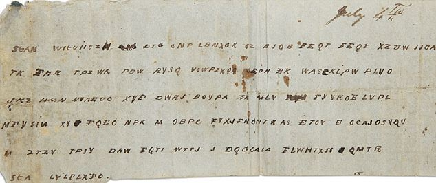 Civil War message in a bottle deciphered