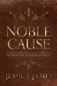 Noble Cause by historical fiction author Jessica James