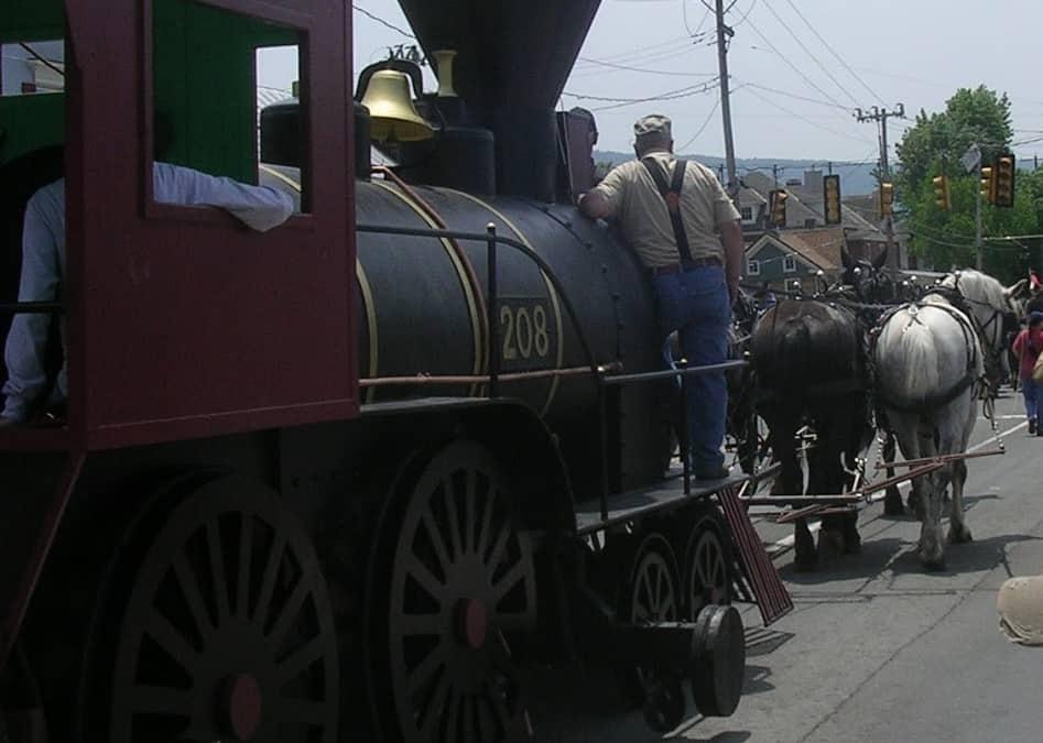 The Great Train Raid event