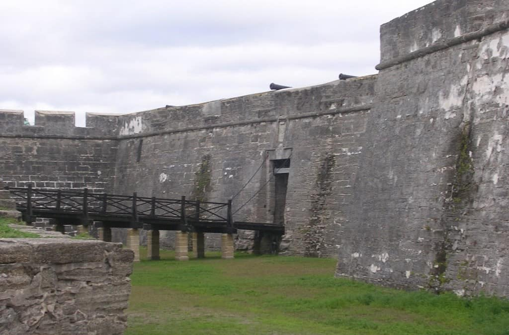 "Visiting the ""Castillo"" in St. Augustine"