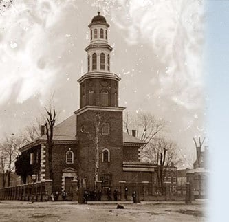 A visit to George Washington's church
