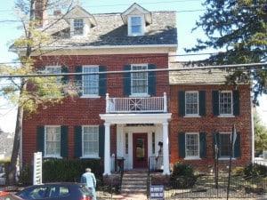 Historical Fiction author Jessica James visits Fairfax