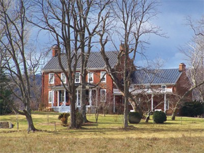 Touring homes in Mosby's Confederacy