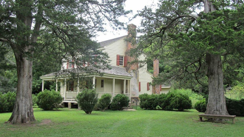 Visit to a Revolutionary War era home