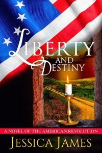 Historical fiction author Jessica James releases revolutionary war novella
