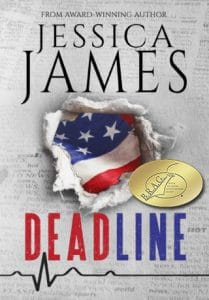 Deadline by Jessica james earns IndieBRAG medallion