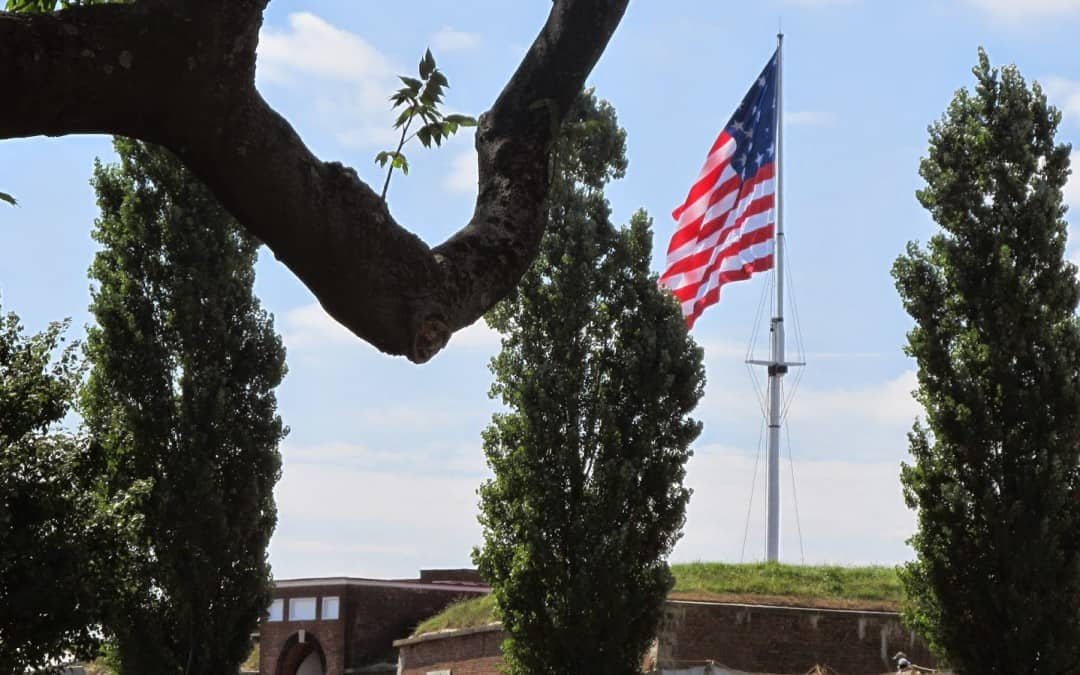 A star-spangled visit to Fort McHenry