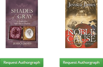 Jessica James on Authorgraph