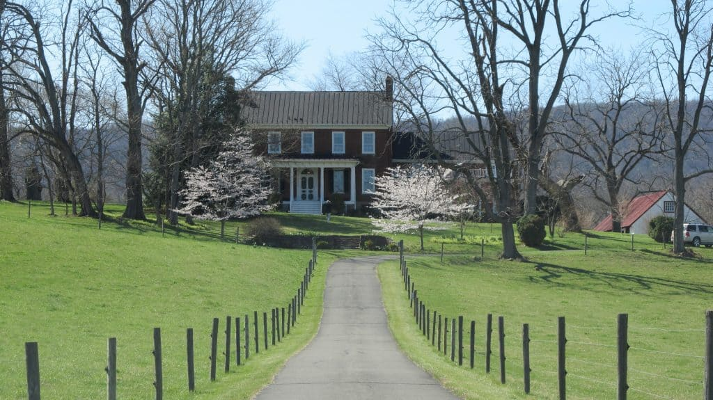 Belle Grove Mosby safe house