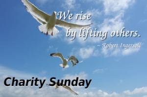 Charity Sunday