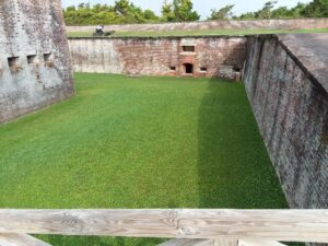 author jessica james visits civil war fort