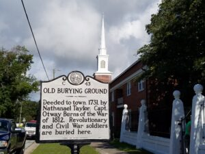 Author Jessica James visits Old Burying Ground