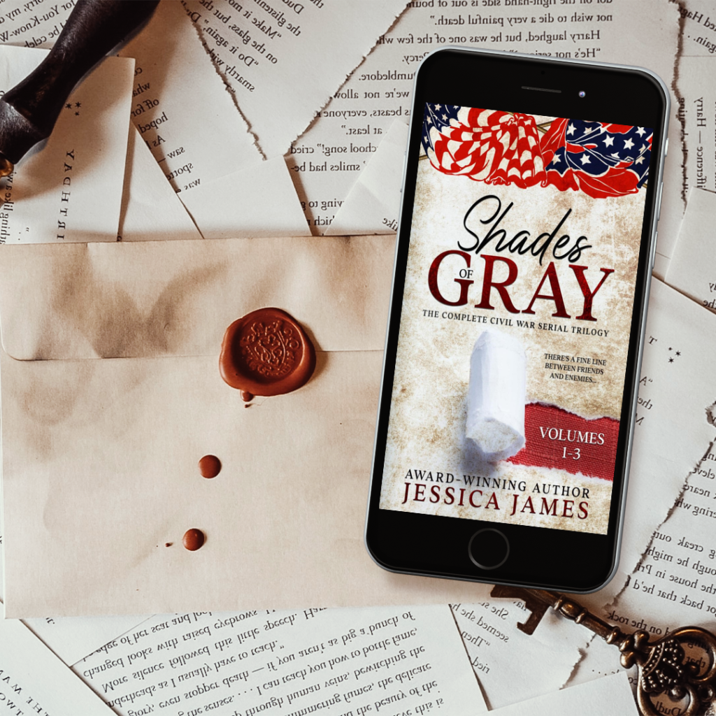 shades of gray trilogy by jessica james