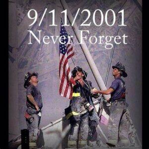 firemen 9-11 flag